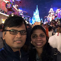 Kannan and Sunitha (Royalton, Ohio, USA)