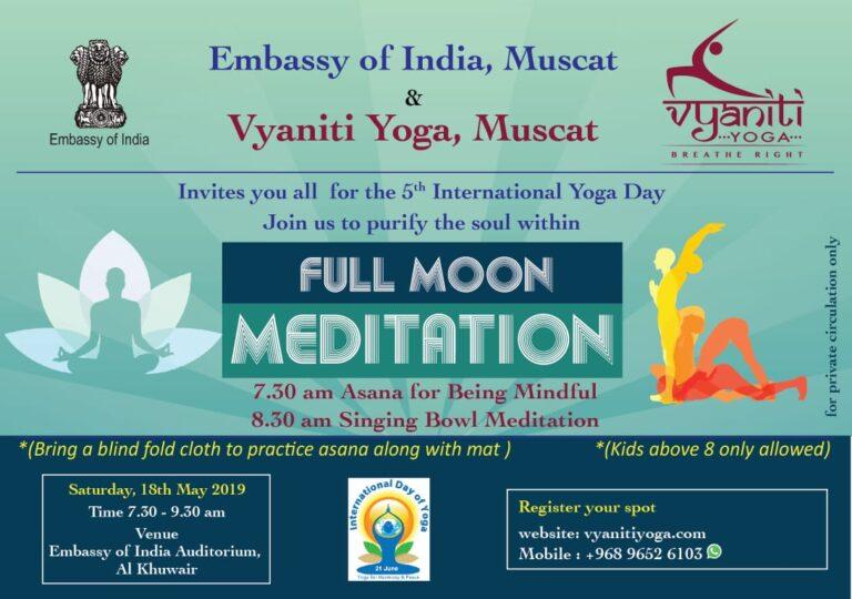 5th International Yoga day 2019-Vyaniti yoga