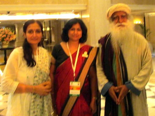 yoga guru and sadguru