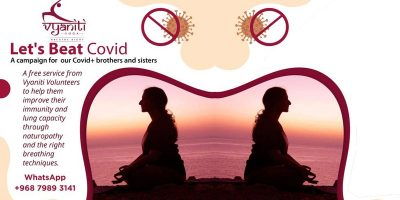 LET'S bEAT cOVID cAMPAIGN BY vYANITI yOGA
